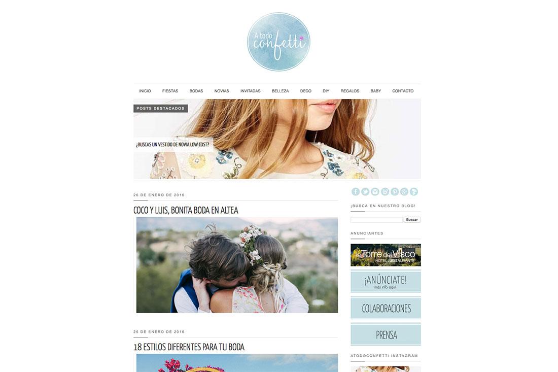Sitios para inspirarte y organizar tu boda
